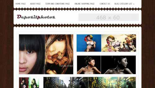 Free Gallery Blogger Templates, blogger templates for wallpapers blog