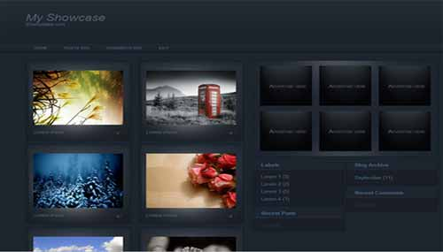 Gallery Blogger Template , best blogger gallery templates free download, download free gallery templates for wallpapers